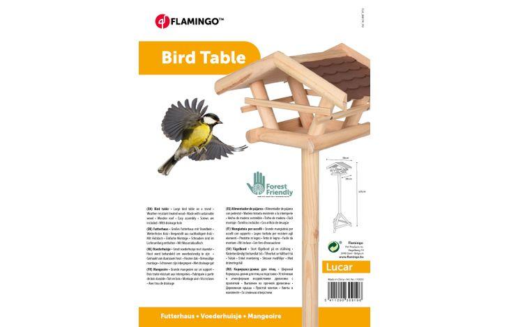 Flamingo BIRD TABLE LUCAR + STAND