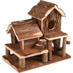 Small animal house Swinsy Brown - Wood