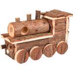 Small animal house Lokomo Brown - Wood