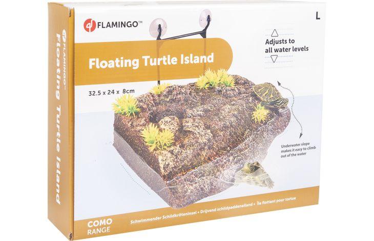 Flamingo TD COMO TURTLE ISLAND ANGLE L 32,5x24x8CM