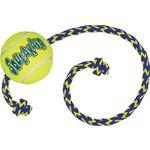 Kong® Toy SqueakAir® M Yellow Rubber