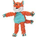 Kong® Toy Knots Floppy S M Orange Plush