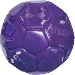 Kong® Toy Flexball M L Purple Rubber