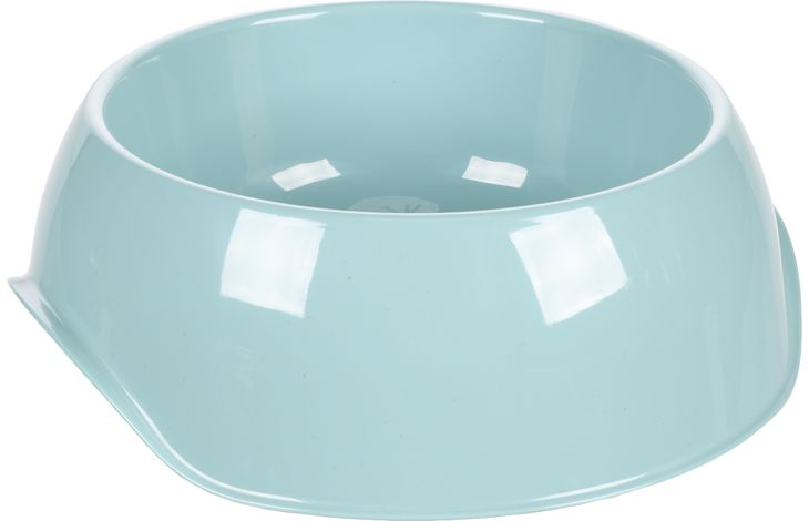Flamingo Feeding and drinking bowl Muk Light blue - Plastic